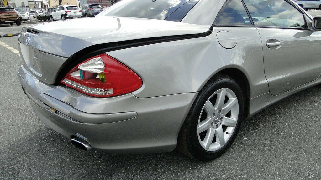 easy fix 2003 Mercedes Benz SL Class SL500 repairable