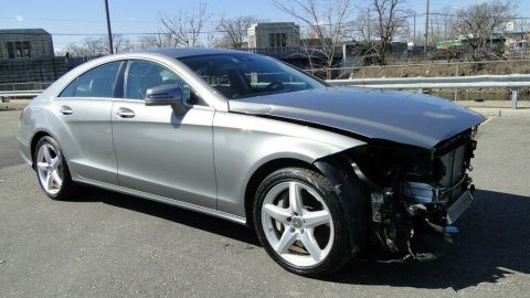 low miles 2013 Mercedes Benz CLS Class CLS 550 repairable for sale