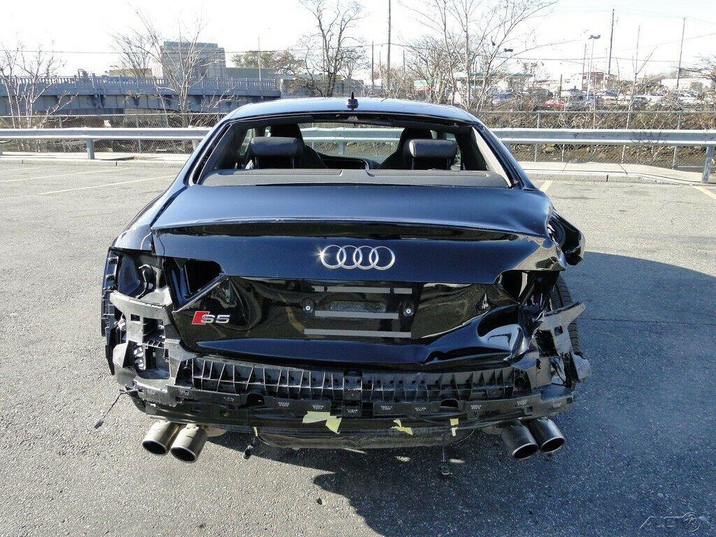 low miles 2016 Audi S5 3.0T Premium Plus repairable