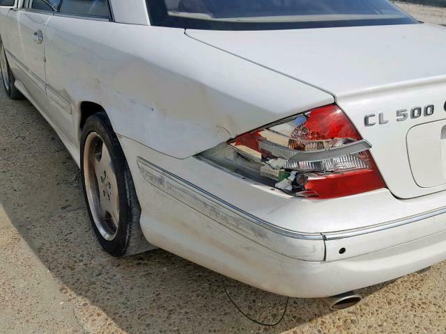 easy repair 2001 Mercedes Benz CL Class 500 repairable