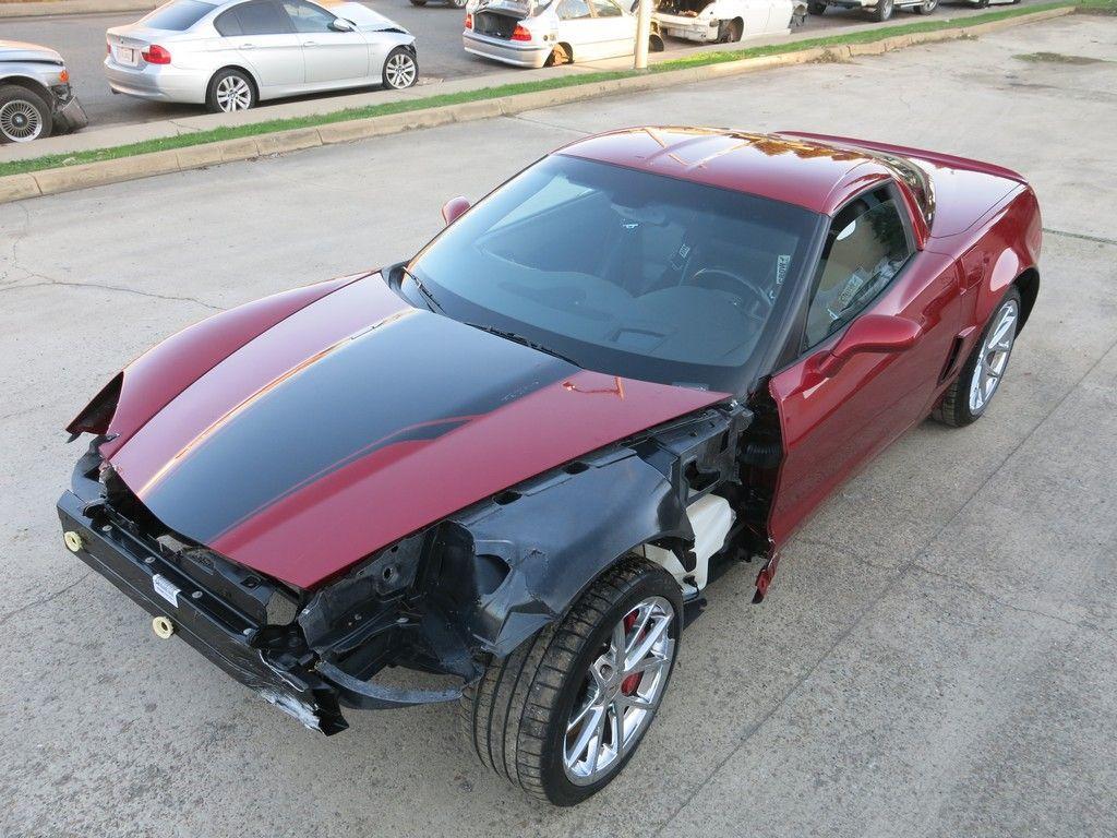 limited edition 2008 Chevrolet Corvette 427/zo6 repairable