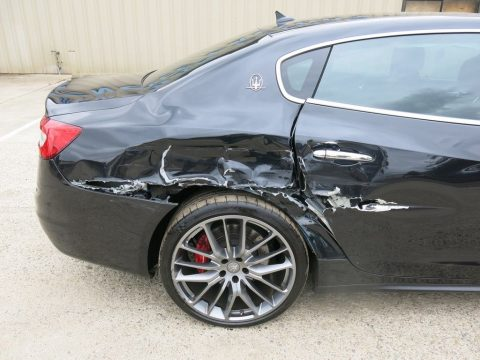 loaded 2014 Maserati Quattroporte GTS repairable for sale