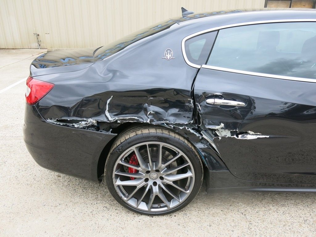loaded 2014 Maserati Quattroporte GTS repairable