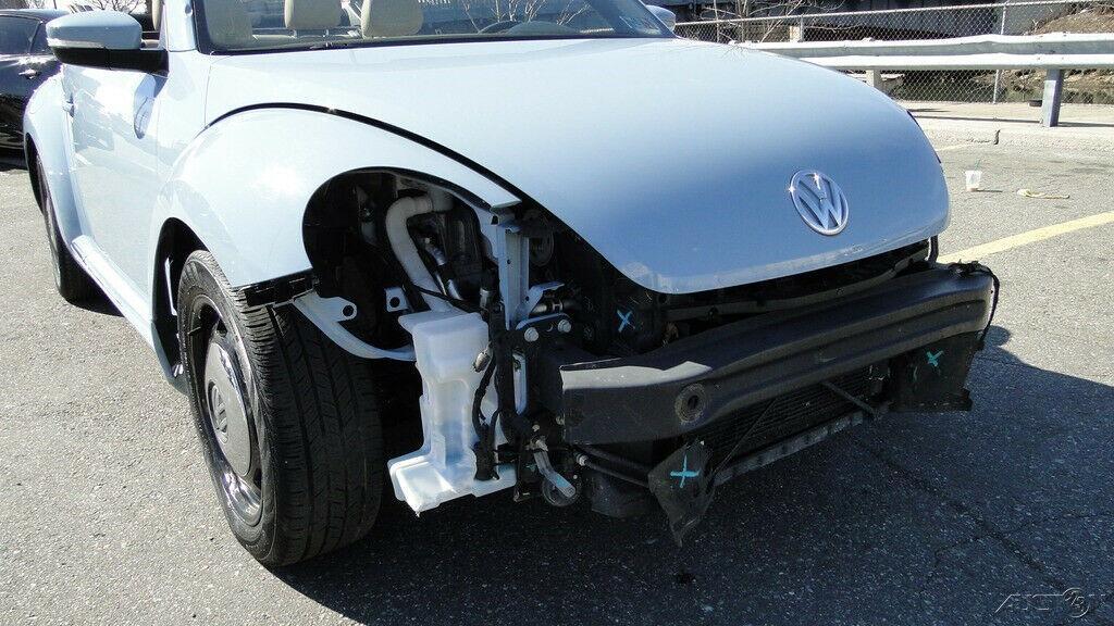 low miles 2013 Volkswagen Beetle Convertible repairable