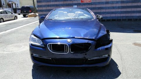 easy fix 2013 BMW 6 Series 650i xDrive repairable for sale