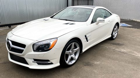 loaded 2016 Mercedes Benz SL Class repairable for sale