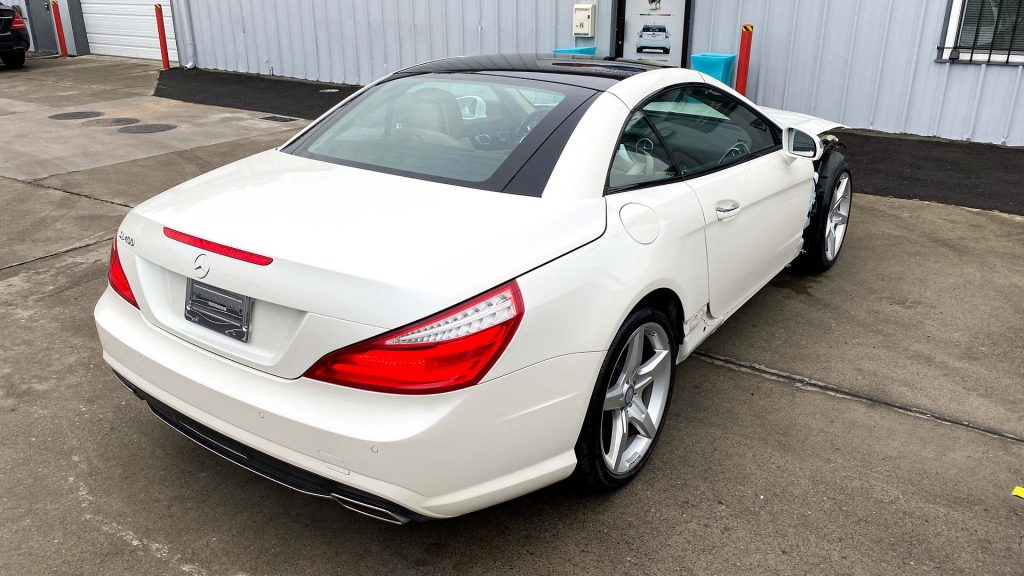 loaded 2016 Mercedes Benz SL Class repairable