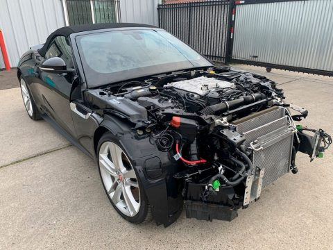 loaded with options 2015 Jaguar F Type Supercharged S Type repairable for sale