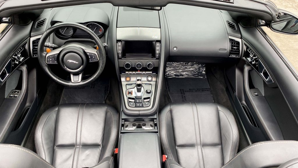 low mileage 2014 Jaguar F Type Supercharged repairable