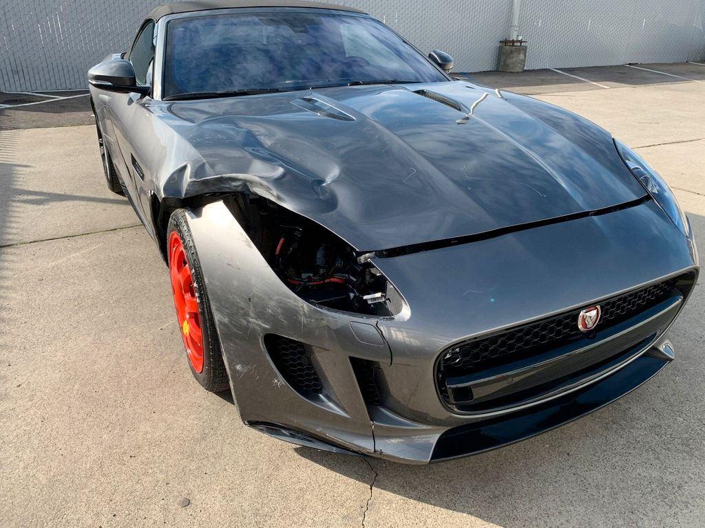 low miles 2017 Jaguar F Type Supercharged Premium repairable