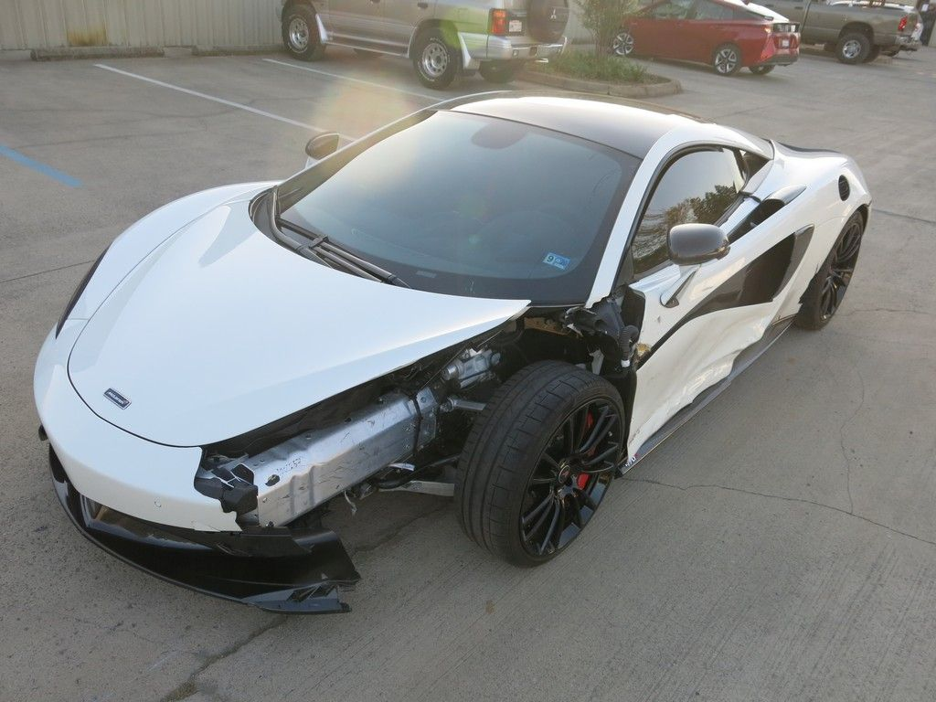low miles 2017 Mclaren 570 S Track Pack repairable