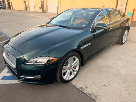 rear damage 2017 Jaguar XJ XJL Supercharged repairable for sale