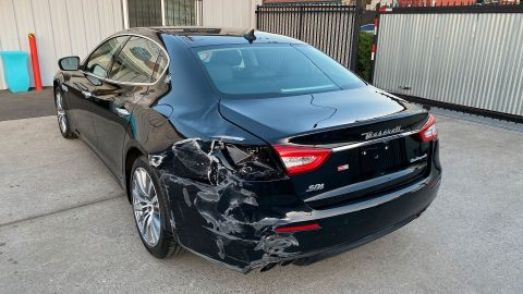 well equipped 2018 Maserati Quattroporte SQ4 Granlusso AWD repairable for sale