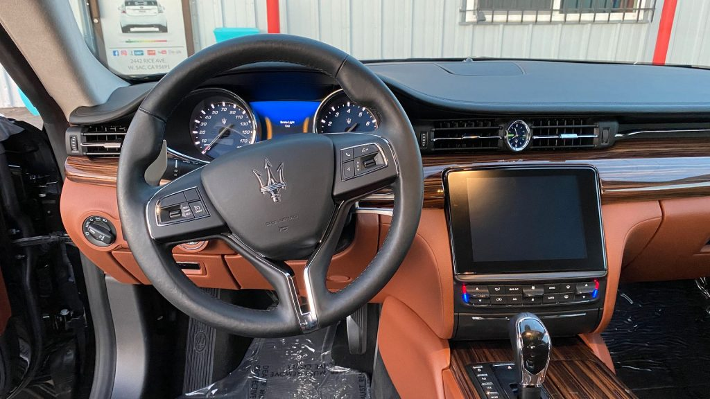 well equipped 2018 Maserati Quattroporte SQ4 Granlusso AWD repairable