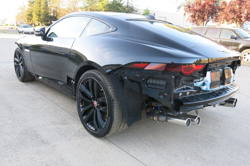 fully loaded 2019 Jaguar F Type R AWD Supercharge repairable