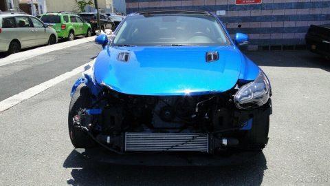 low mileage 2018 Kia Stinger Premium 2.0L Turbo repairable for sale