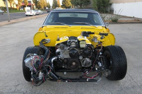 low miles 1968 Chevrolet Camaro SS/LS1 repairable for sale