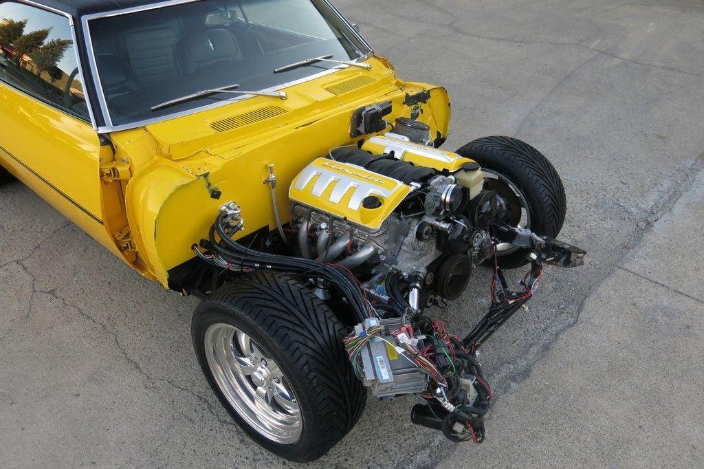 low miles 1968 Chevrolet Camaro SS/LS1 repairable