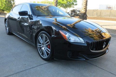 low miles 2014 Maserati Quattroporte GTS 3.8L 8V Twin Turbocharge repairable for sale