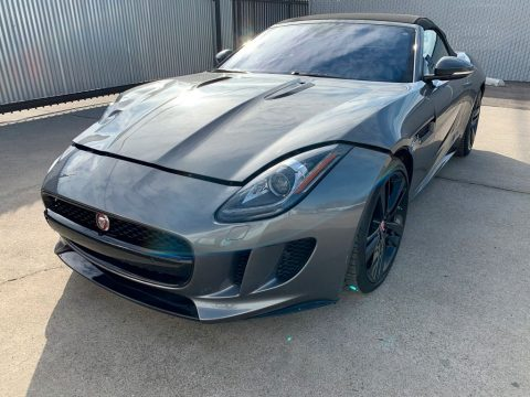 low miles 2017 Jaguar F Type Supercharged repairable for sale