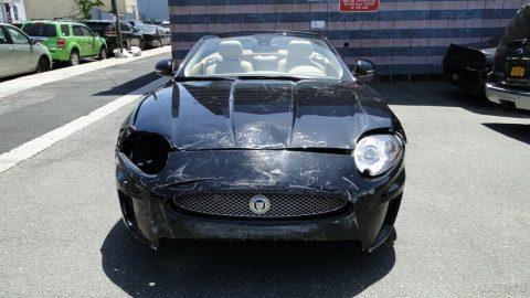 stylish 2010 Jaguar XK 5.0L V8 repairable for sale
