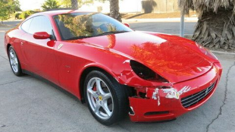 easy repair 2005 Ferrari 612 612 Scaglietti repairable for sale