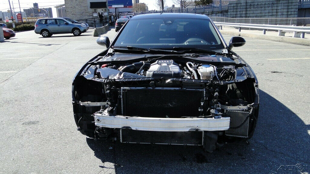 front damage 2015 Audi A7 3.0T Premium Plus repairable
