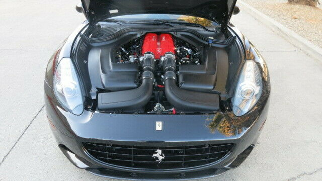 light damage 2010 Ferrari California Hard top Convertible repairable