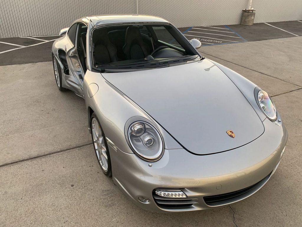 Loaded 2011 Porsche 911 Turbo S 997 500hp Coupe repairable