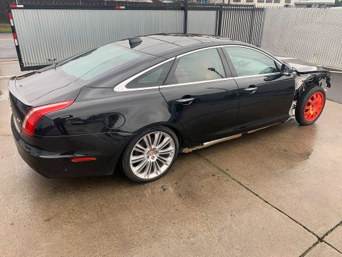 well equipped 2016 Jaguar XJ XJL Supercharged R Sport 340hp repairable for sale