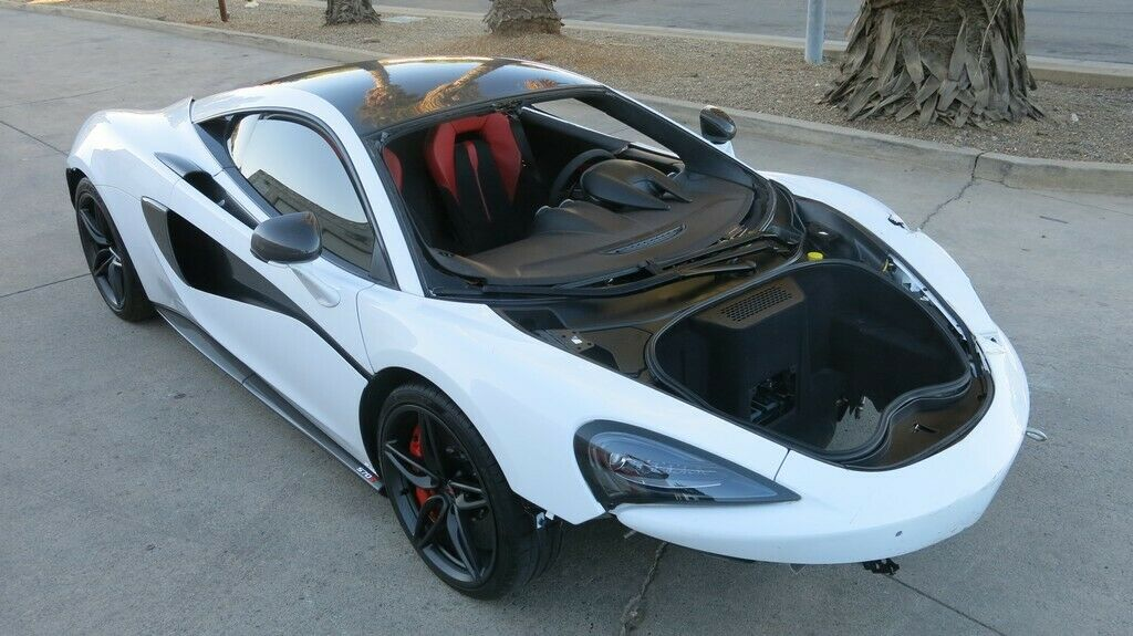 well equipped 2017 Mclaren 570 S 3.8 L Twin Turbocharged repairable
